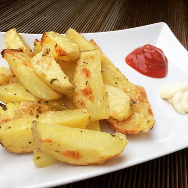 Parmesan-Kartoffeln